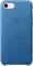 Apple iPhone 7 Sea Blue Leather Case