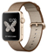 Apple Watch Series 2 42mm Gold Aluminum Case With Toasted Coffee/Caramel Woven Nylon