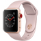 Apple Watch Series 3 38mm GPS + Cellular Gold Aluminum Case With Pink Sand Sport Band