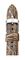 Michele 16mm Grey Rose Multi Lizard Watch Band