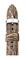 Michele 16mm Grey Rose Multi Lizard Watch Band
