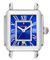 Michele Deco Madison Cobalt Diamond Dial Stainless Steel Womens Watch Head