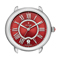Michele Serein 16 Red Diamond Dial Womens Watch Head