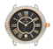 Michele Serein 16 Diamond Two-Tone Rose Gold Black Dial Womens Watch Head