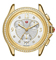 Michele Belmore Chrono Gold Diamond Dial Womens Watch Head