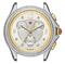 Michele Belmore Chrono Two-Tone Diamond Dial Womens Watch Head