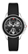 Michele Cape Chrono Black Sunray Dial Womens Watch