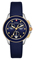 Michele Cape Chrono Navy Sunray Dial Womens Watch