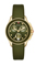 Michele Cape Chrono Green Sunray Dial Womens Watch
