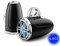 """JL Audio Black 7.7"""" Enclosed Tower Coaxial System With Chrome Sport Grilles And Blue LED"""