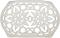 Le Creuset White Deluxe Oval Trivet