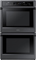 "Samsung 30"" Black Stainless Steel Double Wall Oven"