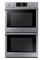 "Samsung 30"" Stainless Steel Double Wall Oven"