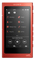 Sony 16GB Cinnabar Red Walkman MP3 Player