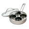 RSVP Stainless Steel 4-Egg Poacher Set