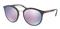 Prada Phantos Grey Rubber Mens Sunglasses