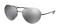 Prada Aviator Black Mens Sunglasses