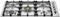 "Bertazzoni 36"" Professional Series Stainless Steel Gas Cooktop"