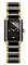 Rado Integral S Quartz Black And Gold Womens Watch