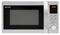 Sharp Stainless Steel Carousel Countertop Microwave