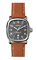 Shinola The Guardian 41.5mm Tan Leather Strap Mens Watch