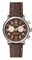 Shinola The Runwell Chrono 41mm Dark Nut Brown Leather Strap Mens Watch
