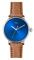 Shinola The Canfield Bolt 43mm Blue Dial Mens Watch