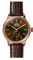 Shinola The Bedrock Rose Gold 42mm Mens Watch