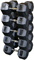 Body-Solid Rubber Coated 80-100 lbs. Hex Dumbbell Set - SDRS900