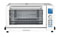 Cuisinart Deluxe White Convection Toaster Oven Broiler