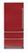 "Viking Professional 7 Series 36"" Apple Red Built-In Bottom-Freezer Refrigerator"