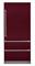 "Viking Professional 7 Series 36"" Burgundy Built-In Bottom-Freezer Refrigerator"