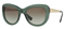 Versace Transparent Green Cat Eye Womens Sunglasses