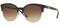 Versace Havana/Pale Gold Round Womens Sunglasses