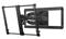 """Sanus Super Slim Full Motion Black 46-90"""" Flat Panel TV Mount"""