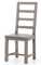 Four Hands Black Olive Post & Rail Dining Chair
