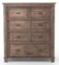 Four Hands Sundried Ash Settler 7 Drawer Chest Cabinet
