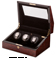 Orbita Siena Three  Burl Programmable Watch Winder