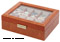 Orbita Roma Ten Lizard Leather Display Case Storage Box