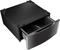 "LG 14"" Black Stainless Steel Washer Or Dryer Pedestal Plus Storage Drawer"