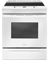 Whirlpool White Slide-In Electric Range