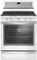 Whirlpool White Ice Freestanding Gas Range