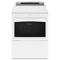 Whirlpool 7.4 Cu. Ft. White Gas Dryer