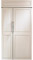 "Monogram 42"" Panel Ready Built-In Side-By-Side Refrigerator"