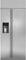 "Monogram 36"" Stainless Steel Built-In Side-By-Side Refrigerator"
