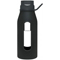 Takeya 12 Oz. Black Classic Glass Water Bottle