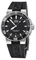 Oris Aquis Date Black And Stainless Steel Mens Watch