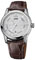 Oris Artelier Small Second Pointer Day Stainless Steel And Brown Leather Mens Watch