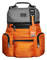 Tumi Alpha Bravo Grey-Orange Knox Backpack