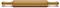 """Epicurean 20"""" Natural/Nutmeg Roller Pin"""